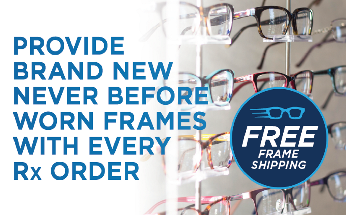 FREE FRAME SHIPPING